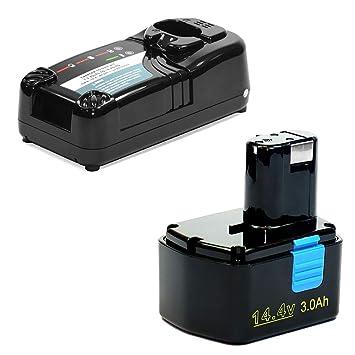 CELLONIC® Batería 14.4V, 3Ah, NiMH + Cargador Compatible con ...