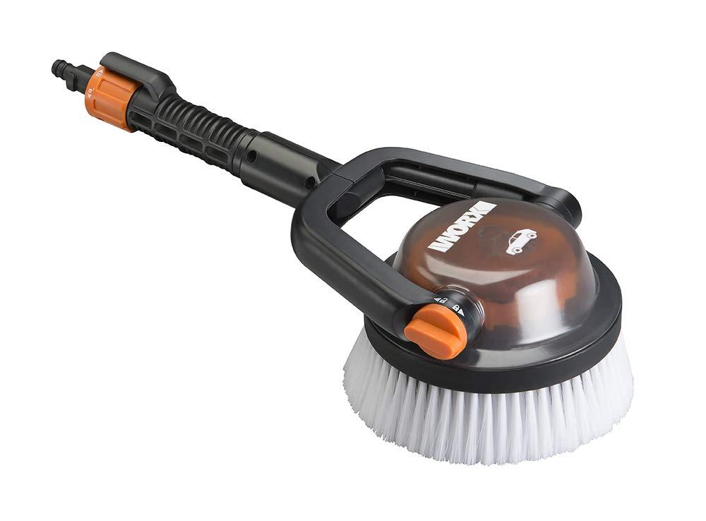 WORX WA1820 Hydroshot Adjustable Automotive Power Scrubber (Soft Bristles), Quick Snap Connection