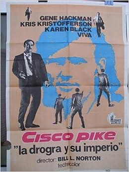 Cartel cine - Movie Poster : CISCO PIKE - Original: Amazon ...