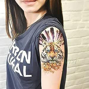 Handaxian 3pcs Etiqueta engomada del Tatuaje de la Pierna ...