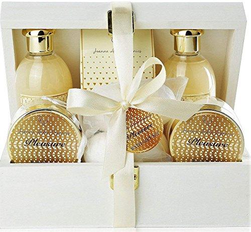 Premium Bath & Body Gift Basket.Luxury Spa Basket with Bath Bombs, Bed Bath & Body Works Wonders! PLEASURES #1 Spa Gift Basket for Women, & Teens! … (Gift Basket Body Works)