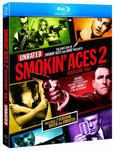 Smokin Aces 2 Assassins Ball (2010) DVDRip 720p 850MB [Hindi 2.0 – English] ESubs MKV