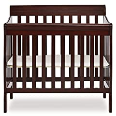 The Dream On Me Aden Convertible 4-in-1 Mini crib is a beautifully designed crib that gracefully matures gracefully with your child from infancy, through childhood to adulthood. With its robust good looks and solid frame this crib feat...
