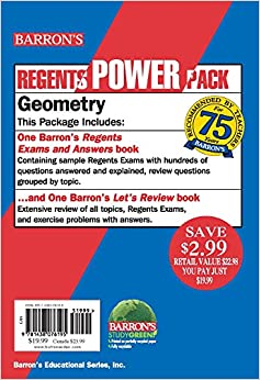 >>DJVU>> Geometry Power Pack (Barron's Regents Power Pack). Jeremy Octobre Modern transito mejores desde evento