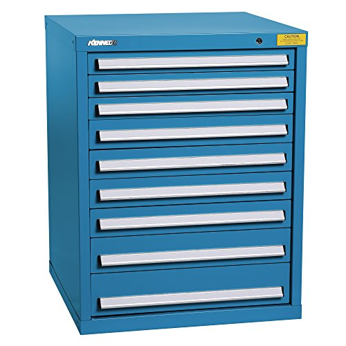 9 Drawer Blue Top Chest - 6