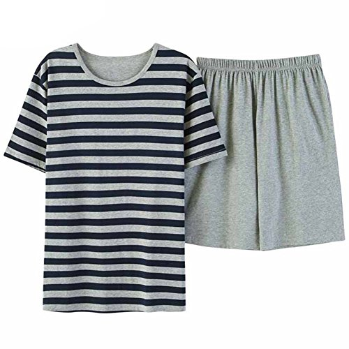 46646a5ad26 high-quality L-Asher Lasher Men s Summer Pajama Sets Relax Life 2 Pcs Short