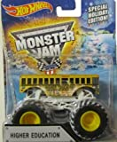 2015 Hot Wheels Monster Jam Special Holiday Edition Higher Education. Exclusive
