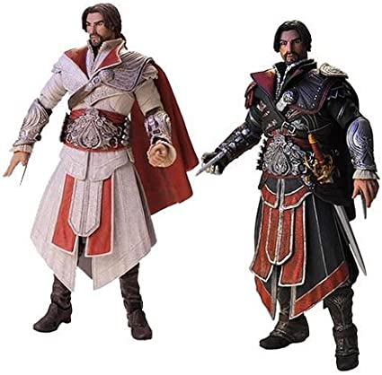 Amazon Com Assassin S Creed Brotherhood Ezio Action Figure Set Of