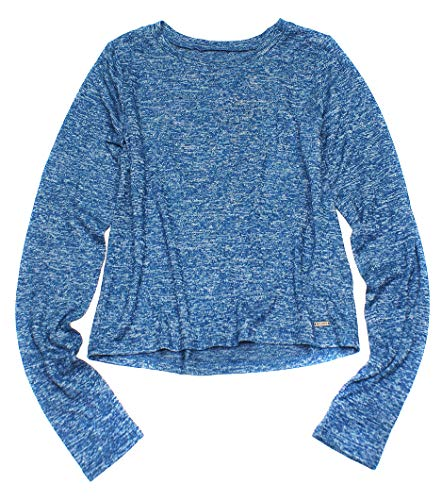 Hollister Women's Must-Have Collection Long Sleeve Crop Knit Tee How-5 (Small, 0658-222) ()