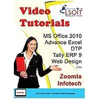LSOIT MS Office 2010 + DTP + Tally ERP 9 + Web Designing + Advance Excel Video Tutorials (DVD)