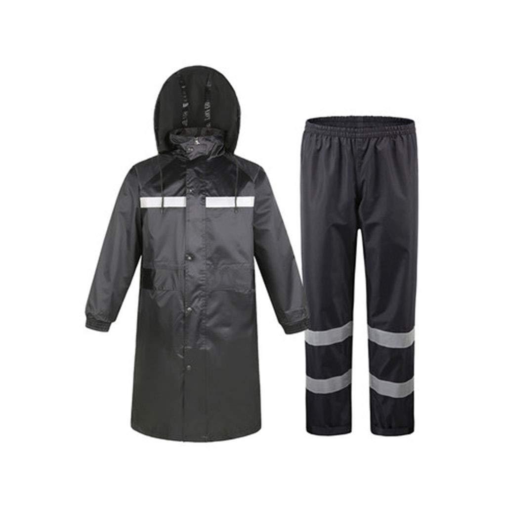 A X-grand Goquik VêteHommests Imperméables Imperméable Une pièce, Coupe-Vent, imperméable, Combinaison imperméable extérieure, Poncho Vestes Coupe-Pluie (Couleur   A, Taille   XL)