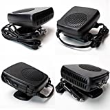 Car 2 in 1 Portable Heating Cooling Ceramic Heater Fan Defroster Demister DC 12V