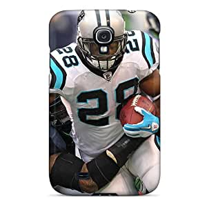Hot Tpye Carolina Panthers Player Rb Steward Rushing Case Cover For Galaxy S4