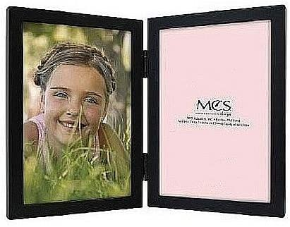 Amazoncom Mcs Willow Woods Double Black Hinged Frame 8x10