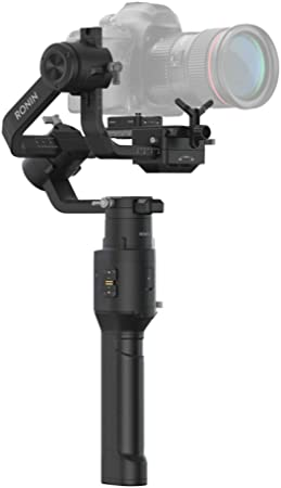 Oferta amazon: DJI Ronin-S - Kit Básico, Velocidades de Hasta 75 km/h, Duración de la Batería de 12 Horas, Capacidad Probada de Carga 3.6 kg, Estabilización Superior a 3 Ejes, Negro