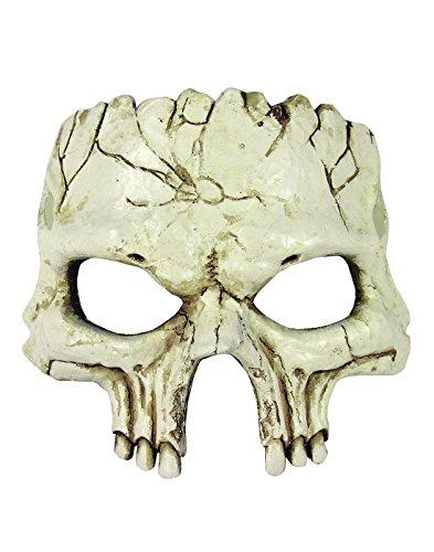 Skull Half Mask - 4