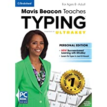 Encore Software Mavis Beacon Teaches Typing Powered by Ultra Key, Personal Edition