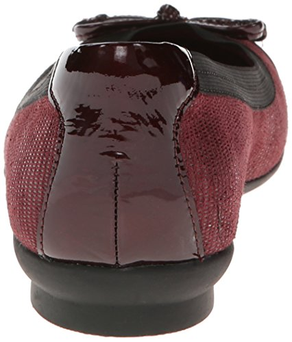 Clarks Womens Candra Glowball-plat Bordeauxrood