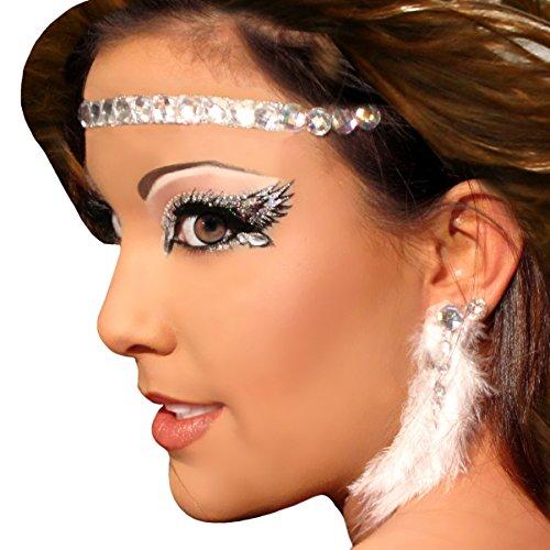 Headband / Halo Rhinestone Angel Costume Accessory Xotic (Angel Makeup Costume)