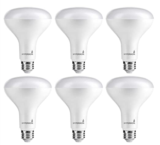 Hyperikon BR30 LED Bulb Dimmable 9W 65W Equivalent 3000K Soft White Glow Wide Flood Light