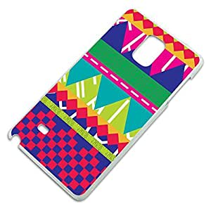 Southwestern Hipster Colorful Pattern Slim Fit Hard Case Fits Samsung Galaxy Note 4