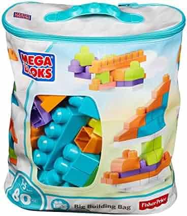 Mega Bloks Big Building Bag (80 Piece) [Amazon Exclusive]