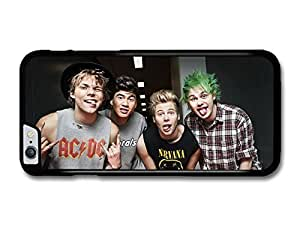 """AMAF ? Accessories 5 Seconds Of Summer Funny Faces Boyband case for iPhone 6 Plus (5.5"""")"""