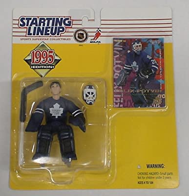 -  Starting Lineup 1995 Hockey Toronto Maple Leafs Felix Potvin Moc