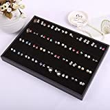 UXTIS 80 Holes Earrings Tray Women's Jewelry Display Jewelry Storage Boxes