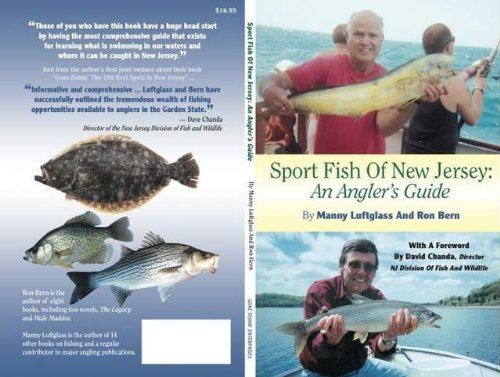 Sport Fish of New Jersey: An Anglers Guide: Amazon.es ...