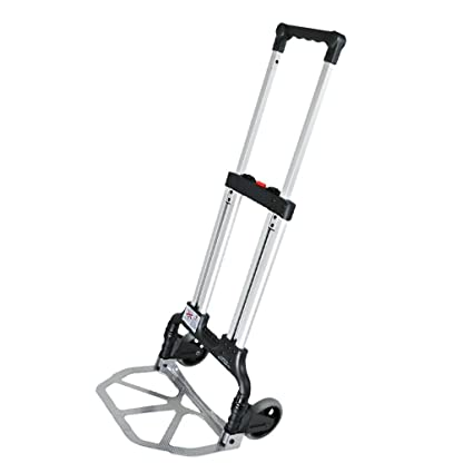 e1c6917f839d Amazon.com : YX XY Two Rounds Trolley Hand Truck Luggage Cart ...