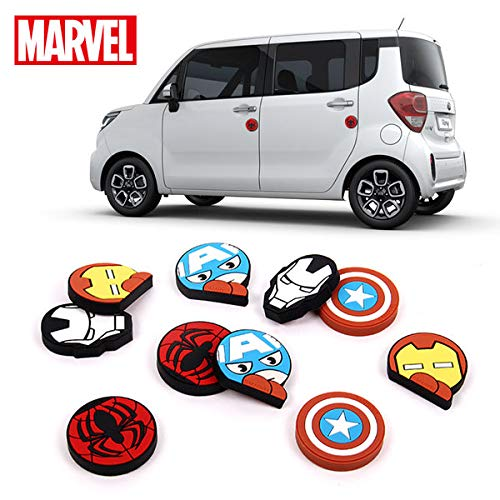 YKM Marvel Hero Characters Door Edge Guard/Protector 4 pcs_ Iron Man- Red