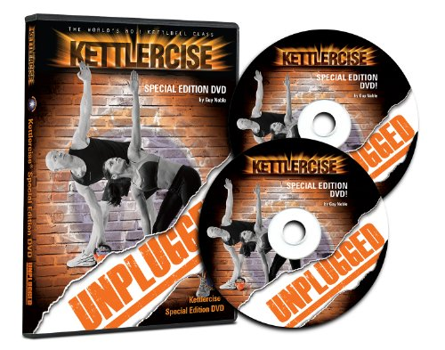 Kettlercise Unplugged 2 Disc DVD - The World's No#1 Kettlebell Class Home...