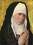 wren press stationary - Oil Painting 'Mater Dolorosa Mater Dolorosa 1460s, Workshop Of Dirk Bouts', 10 x 13 inch / 25 x 34 cm , on High Definition HD canvas prints is for Gifts And Game Room, Hallway And Kitchen Decoration