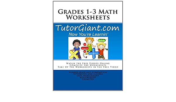 Amazon.com: TutorGiant.com - Grades 1-3 Math Worksheets: Grade 1 ...
