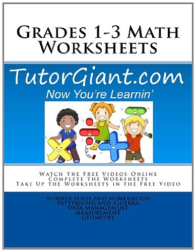 Counting Number worksheets math picture worksheets : Amazon.com: TutorGiant.com - Grades 1-3 Math Worksheets: Grade 1 ...