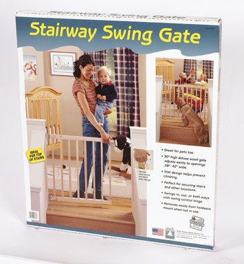 North States Stairway Swing Gate Boxed by North States