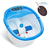 Ivation Multifunction Foot Spa - Heated Bath with Vibration, Rollers, Bubble Massage
