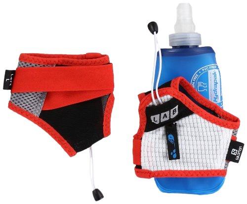 Salomon Sense Hydro S-Lab Set Backpack, Aluminium/Racing Red, Medium