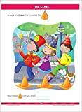 School Zone - Big Kindergarten Workbook - Ages 5-6, Early Reading and Writing, Numbers 0-20, Matching, Story Order, and More (Big Get Ready Workbook)