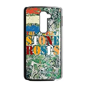 Design Cases LG G2 Cell Phone Case Black THE STONE ROSES Zmnpdy Printed Cover