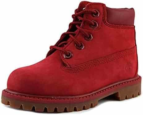 Timberland Premium Toddler US 10 Red Boot