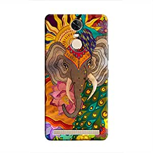Cover it up Indian Dreams Hard Case for Lenovo K5 Note - Multi Color