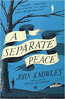 a summary of a separate peace a novel by john knowles It would be inconceivable for an american author to write a coming-of-age novel in a comedic vein without reckoning with j d salinger's a catcher in the rye and it would be equally impossible to explore the genre in a tragic vein without taking account of john knowles's a separate peace in a.
