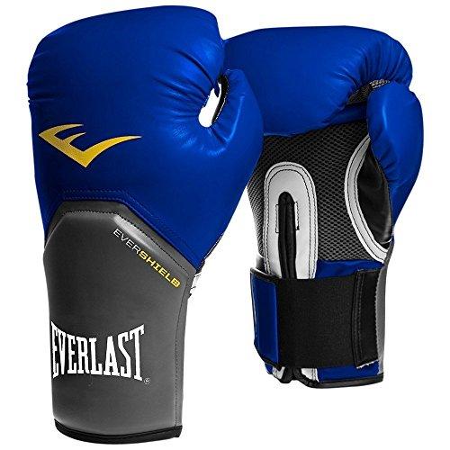 Everlast Boxing Training Gloves Elite Pro Style Blue, 16 oz