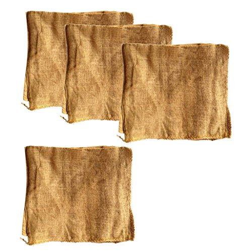 Baoblaze Premium Burlap Sacks Potato Sack Race Bags for sale  Delivered anywhere in Canada