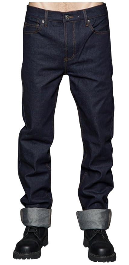 Men's Vintage Style Pants, Trousers, Jeans, Overalls Lip Service Mens Greaser Fit Indigo Denim $45.00 AT vintagedancer.com
