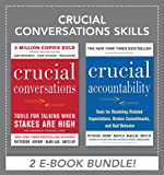Book cover for Crucial Confrontations: Tools for talking about broken promises, violated expectations, and bad behavior