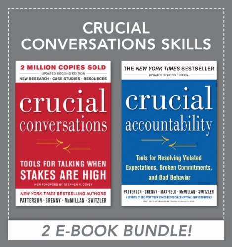 Crucial Conversations Skills -A 2 Book Package