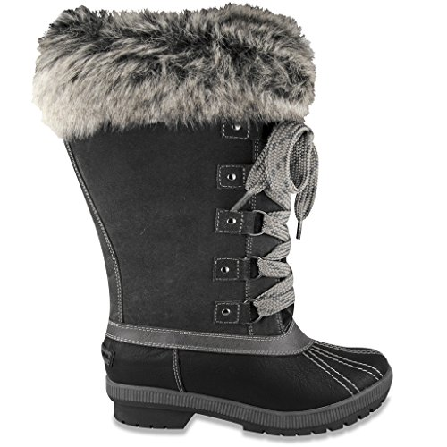 Pictures of London Fog Womens Melton Luxe Cold Weather 3